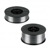 Microalambre de núcleo fundente para procesos sin gas (FCAW), 1 y 5 kg