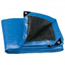 Lonas reforzadas azules, 180 g/m2, espesor de 0.25 mm