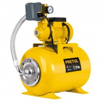 Bomba hidroneumática 1/2 HP, 24 litros, Pretul