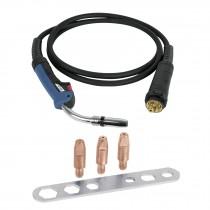 Juego antorcha y accesorios para soldadora SOMU-250X, 5 pzas