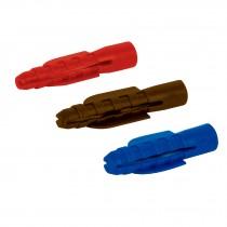 Taquetes de plástico, 50 piezas