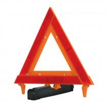 Triángulo de seguridad,plegable, de plástico, 29 cm