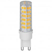 Lámpara de LED, 4 W, base G9, foco cápsula, luz cálida