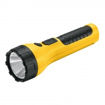 Linterna plástica recargable de LED, 120 lúmenes, Pretul