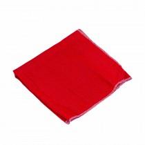 Franela roja de algodón, 1 m