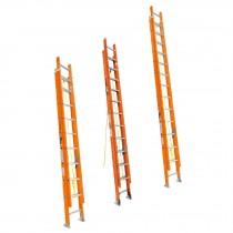 Escaleras de extensión, fibra vidrio, 175 kg