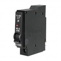 Interruptor termomagnético 1 polo 40 A, Volteck