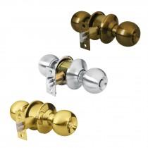 Cerraduras de pomo tipo esfera, mecanismo cilíndrico recámara