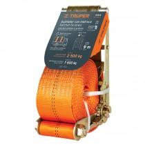 Sujetadores con matraca, carga máxima 6000 kgs
