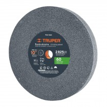 "Piedra para esmeril 10 X 1-1/4"", óxido de aluminio, grano 60"