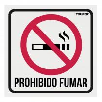 """Letrero de señalización """"NO FUMAR"""", 19 x 19 cm"""