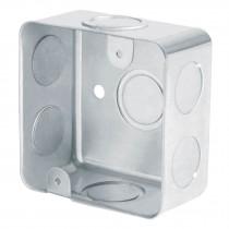 "Caja cuadrada reforzada 3""x3"", Volteck"