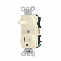 Interruptor de palanca con contacto, Standard, marfil