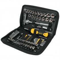 Juego de herramientas para mecánico, 83 piezas, Pretul