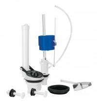 Jgo de reparación p/WC con válvula flotador,regulación clip
