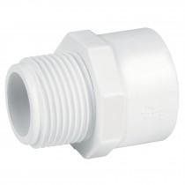 Adaptadores macho de PVC hidráulico