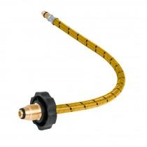 Manguera de hule, pigtail, 55 cm, vinilo, usos generales