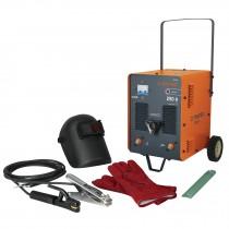 Combo soldadora inversora SOT-250AL, Careta y GU, LATAM