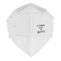 Respirador plegable N95, para polvos y partículas, 1 pieza
