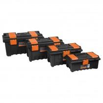 Cajas para herramienta, con compartimientos