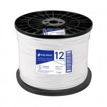 Cordón dúplex flexible SPT, 12 AWG, bobina 300 m