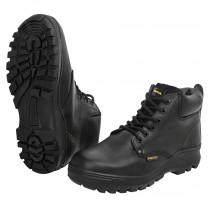 Zapatos industriales, con casquillo,negros