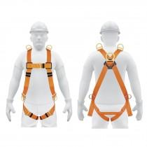 Arnés cuerpo comp,5 anillos,posicionamiento/rescate,ANSI