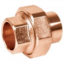 Tuercas unión, cobre a cobre