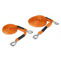 Cuerdas con ganchos para remolque