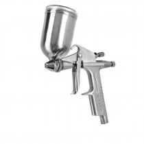 Pistola p/retoque gravedad, LVMP, vaso aluminio, 0.5 mm