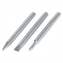Puntas de repuesto para cautín tipo lápiz CAU-100, 3 piezas