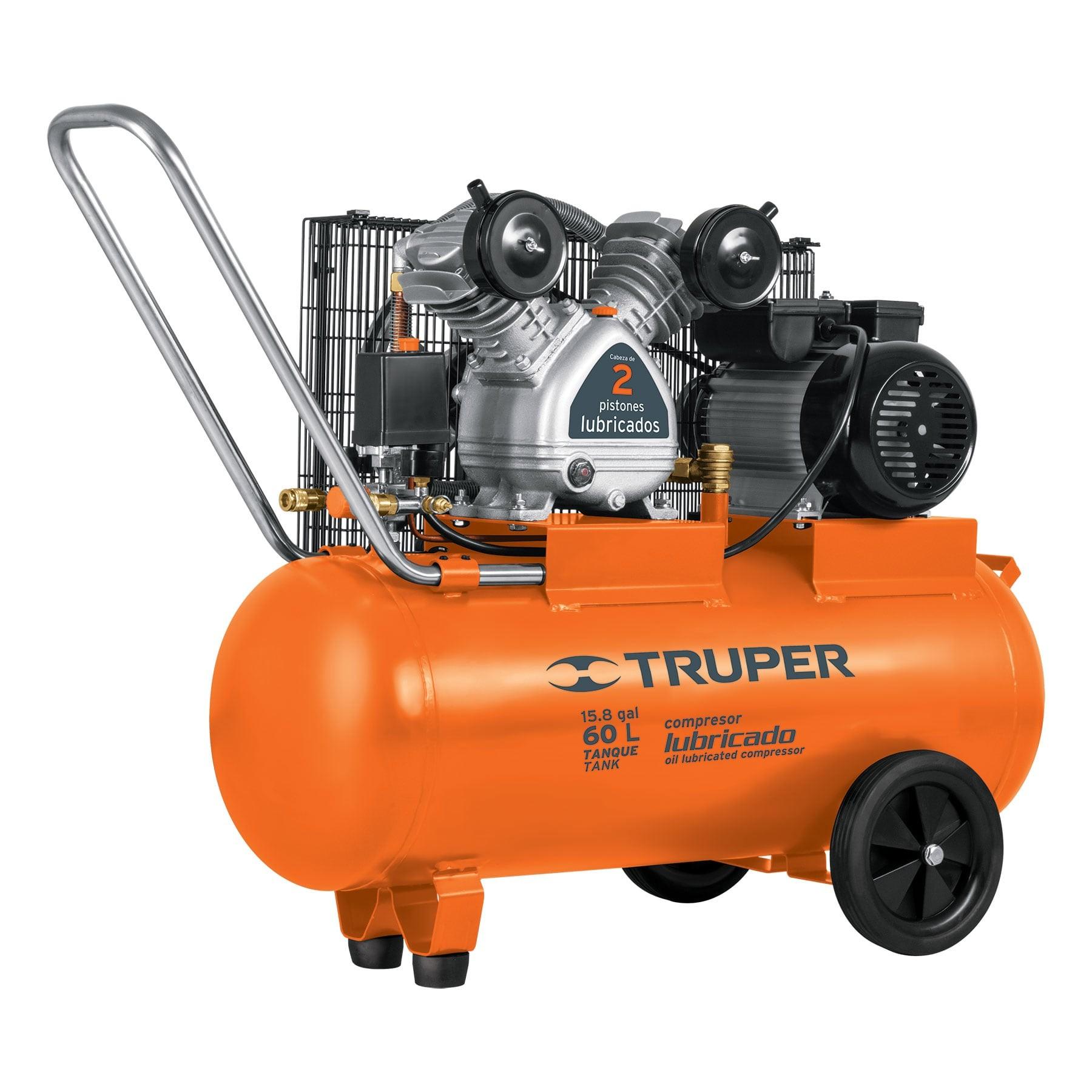 Compresor horizontal 60 L, 4 HP (potencia máxima), 127 V