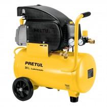 Compresor, 20 L, 2-1/2 HP (potencia máxima), 127 V, Pretul