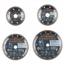 Discos de diamante rin turbo, usos generales