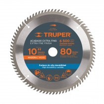 "Disco sierras diámetro 10"", centro 1"", para madera"