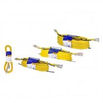 Extensiones reforzadas aterrizadas, calibre 14