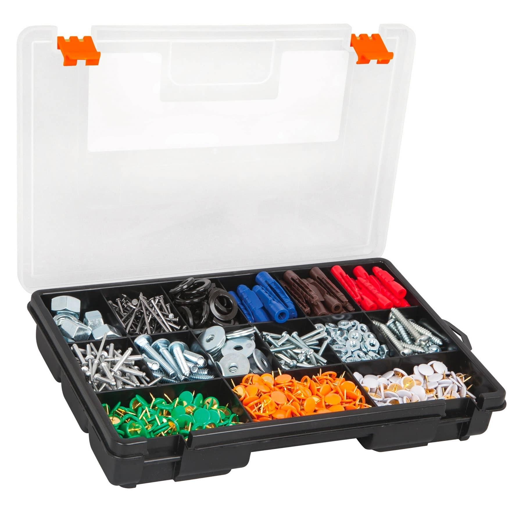 """Organizador 11"""" con 15 compartimentos"""