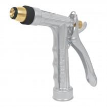 Pistola metálica para riego, 2 funciones