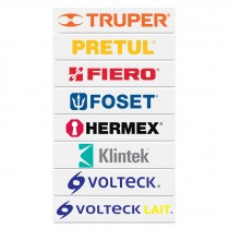 Logotipos de vinil autoadherible de 40 cm