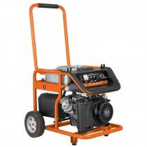 Generador eléctrico portátil con motor a gasolina, 7,500W