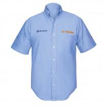 Camisas manga corta para caballero, azules