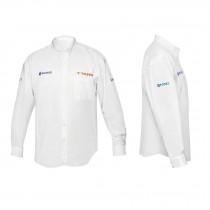 Camisas manga larga para caballero, blancas