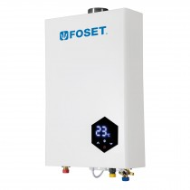 Calentador instantáneo modulante, 24 L, gas LP, 4 servicios