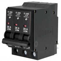 Interruptor termomagnético 3 polos 20 A, Volteck