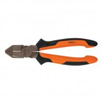 Pinzas de electricista profesionales, cabeza cuadrada, Comfort Grip