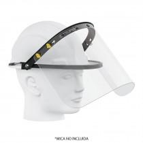 Adaptador de protector facial para casco