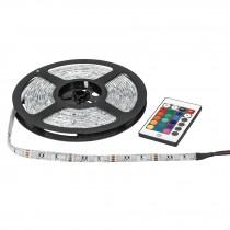 Tira LED multicolor RGB 40 W, 5 m para interior y exterior