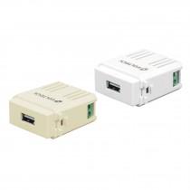 Módulos puerto USB, línea italiana