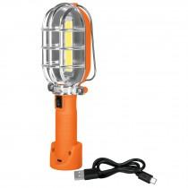 Lámpara de taller recargable de LED, 280 lúmenes