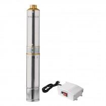 Bomba sumergible para pozo profundo, 3/4 HP, agua limpia